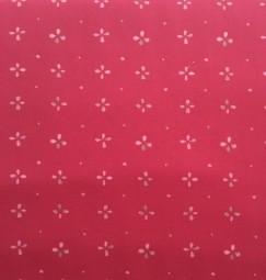 Baumwolle pink Blumen AGF