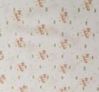 Viskose weiß mit kleinem goldenen Muster