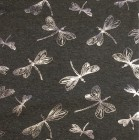JERSEY Libelle grau silber