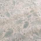 Baumwolle mintblau Blumenmuster