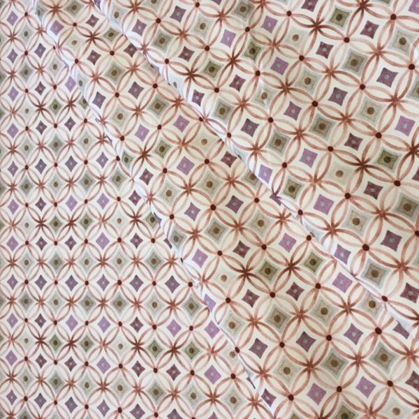 Jersey retro rosa lila Muster