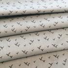 Baumwolle Vögel hellblau