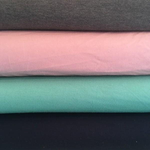 Jersey rosa Bambus-Viskose