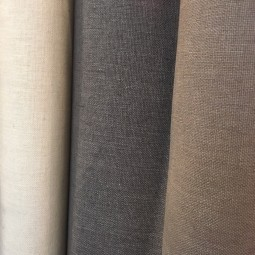 Baumwolle grau antrazith Polsterstoff