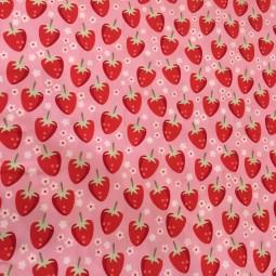 Baumwolle Erdbeeren