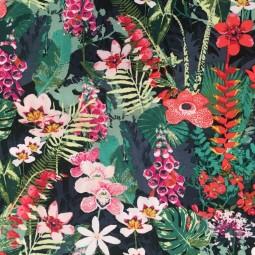 Baumwolle AGF Gardenparty Blumen