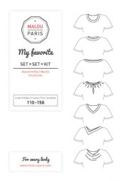 Halsausschnittset My Favorite Kid by Malou Paris