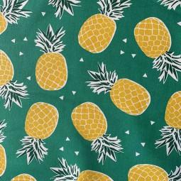 Ananas grün beschichtet