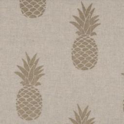 Goldene Ananas Natur Farbe