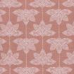 Baumwollstoff rosa weiß