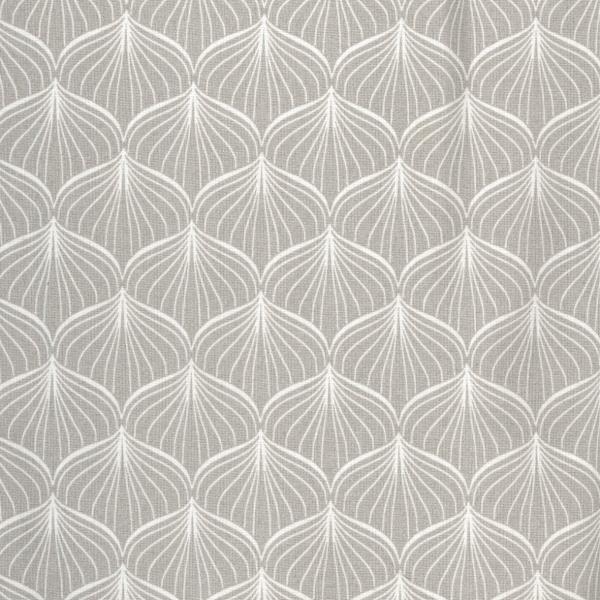 Baumwolle grau weiß gemustert