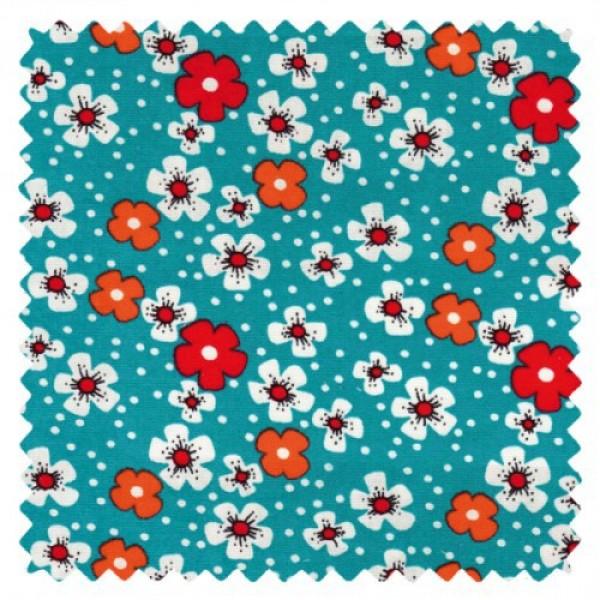 Petit Pan fleurs des îles türkis