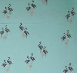 JERSEY Flamingo türkis