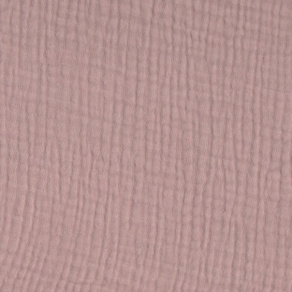 Mullstoff Double Gauze old rose