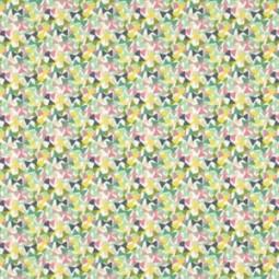Liberty Fabric,Fluttering green