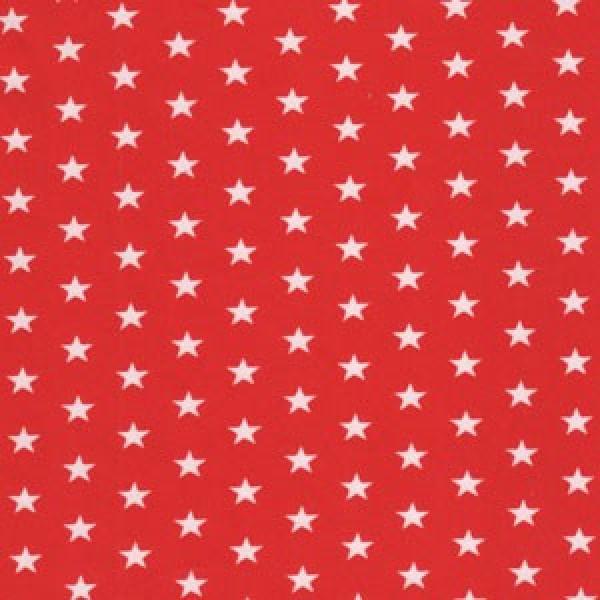 Jersey Sterne weiß auf rot