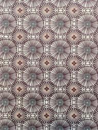 Baumwollstoff lila mint Kreise