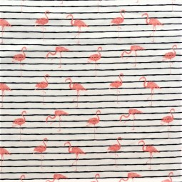 Öko Jersey Flamingo