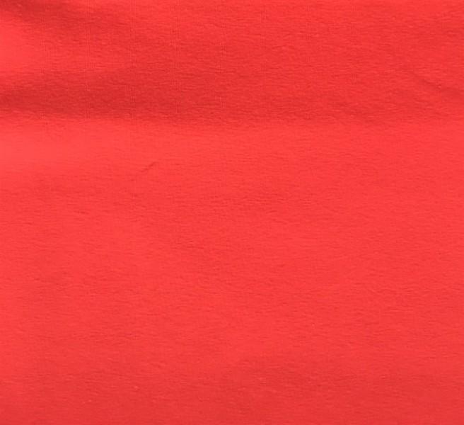 Jersey orange Baumwolle