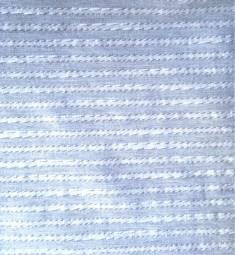 Baumwolle Streifen hellblau / grau weiß