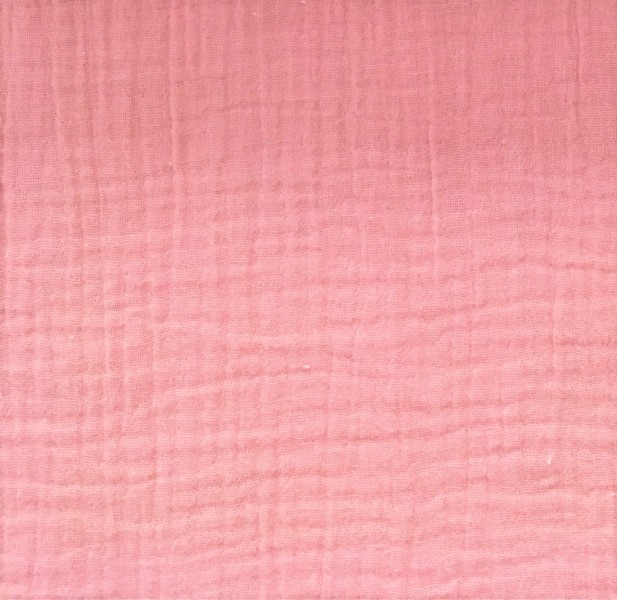 Mullstoff Double Gauze rosa