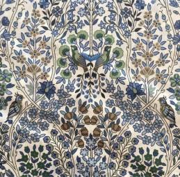 Liberty Fabric birds blue