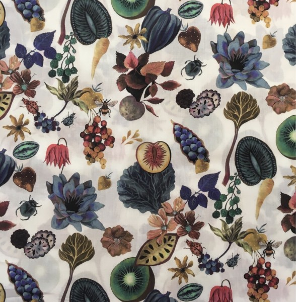 Liberty Fabric Herbstfrüchte